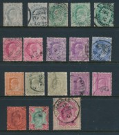 INDIA, 1902 To 2 Rupees With Shades As Listed In SG Fine Used - Inde (...-1947)