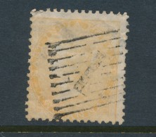 INDIA, 1854 2 Anna Yellow No Wmk Small Thin Used, SG43, Cat GBP55 - India (...-1947)