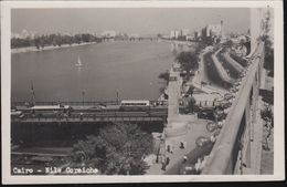 Ägypten - Kairo - Cairo - Nile Corniche - Bridge - Bus - Kairo