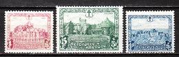 312/14  Les Châteaux - Les 3 Bonnes Valeurs - MNG - LOOK!!!! - Belgium