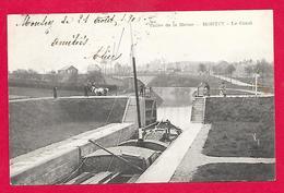 08-Charleville-Montcy-le Canal-cpa écrite 1905 - Charleville