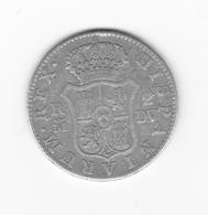 Rare 2 Réales  1786 Madrid DV  TTB - Collections