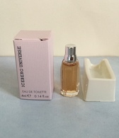 "Miniature ""ICEBERG UNIVERSE"" De EUROCOSMESI  Eau De Toilette Femme 4 Ml Dans Sa Boite - Miniatures Femmes (avec Boite)"
