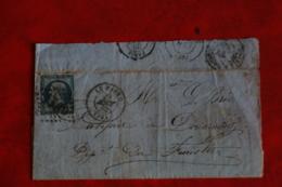 LETTRE AYANT CIRCULEE DU HAVRE A DOUARNENEZ 29 AOUT 1863 - 1849-1876: Période Classique