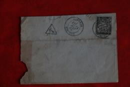 LETTRE AYANT CIRCULEE LABREDE GIRONDE  31 MAI 1885 - 1849-1876: Période Classique