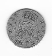 Rare 2 Réales  1793 Madrid  MF TTB+ - Collections