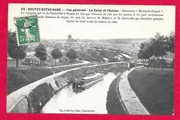 08-Charleville-Montcy-le Canal Et L'écluse-cpa écrite 1908-(montey Notre Dame) - Charleville
