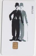 GREECE - Charlie Chaplin In Sarlo ,Exhibition In Athens(Parthenon Club),Tirage 500, 01/07 - Griechenland