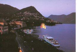 Lugano - Panorama - TI Tessin