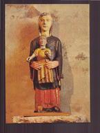NOTRE DAME DE LISSEUIL VIERGE ROMANE - Sculptures