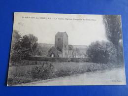 St-BERAIN Sur DHEUNE - La Vieille Eglise, Chapelle Du Cimetière - France