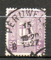 BELGIQUE  5c Sur 5c Brun  1926  N° 240 - 1922-1927 Houyoux