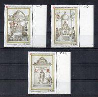 S.M.O.M.- 2005 - Tavole Degli Antichi Testi - 3 Valori - Nuovi ** - Con Bordi Di Foglio - (FDC20908) - Sovrano Militare Ordine Di Malta