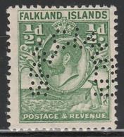 FALKLAND ISLANDS : 1929 KGV Whale & Penguin ½d SPECIMEN MNH ** Rare - Falkland