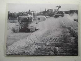 """LACQ Tracteur Américain Sur Chenilles """"Bulldozer"""" CATERPILLAR - Coupure De Presse De 1961 - Tractors"""