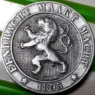 BELGIE : ZEER MOOIE 5 CENTIMES 1895 VL - 04. 10 Centimes