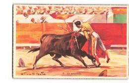 Corrida Tauromachie La Estocada Taureau Illustration Illustrateur Givalt Levin - Corrida