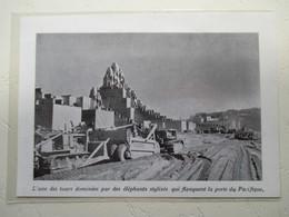 San Fransisco - Travaux Expo - Golden Gate International Exposition  - Tracteur à Chenille   - Coupure De Presse De 1938 - Tracteurs