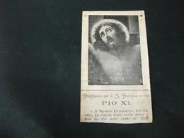 SANTINO HOLY PICTURE IMAIGE SAINTE GESU' CRECEFISSO - Religione & Esoterismo