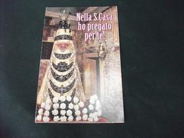 SANTINO HOLY PICTURE IMAIGE SAINTE NELLA S. CASA HO PREGATO PER TE SANTUARIO S. CASA LORETO - Religione & Esoterismo