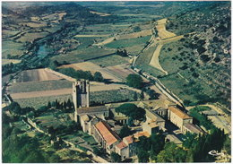 11. Gf. LAGRASSE. Vue Générale Aérienne. L'abbaye. 1429 - Altri Comuni