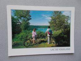 LE LAC DE VOUGLANS ( 39 Jura ) VUE SUR LE PONT DE LA PYLE  ANIMEES  VOYAGEE - France