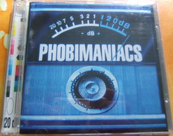 CD  ROCK - PHOBIMANIACS / 120 Db - Rock