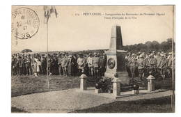90 TERRITOIRE DE BELFORT - PETIT CROIX Inauguration Du Monument De L'Aviateur Pégoud - Autres Communes