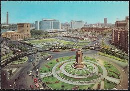 Ägypten - Kairo - Cairo - Hilton Hotel And Egyptian Museum - Cars - Busbahnhof - Kairo