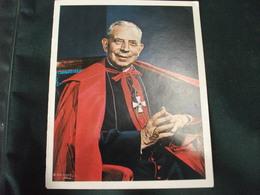 SANTINO HOLY PICTURE IMAIGE SAINTE X ANNIVERSARIO DELL'ESODO PASQUALE DEL CARD. GIACOMO LERCARO 18 OTTOBRE 1986 - Religione & Esoterismo