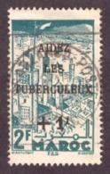 Maroc 1945 -  Yt N°238 2f + 1f - MNH - Papier Creme - Morocco (1891-1956)