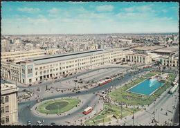 Ägypten - Kairo - Cairo - Ramses Station - Railway Station - Cars - Nice Stamp - Kairo