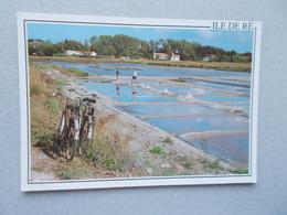 ILE DE RE (17 Charente Maritime ) MARAIS SALANTS ANIMEES  VELOS  VOYAGEE 1996 - Ile De Ré