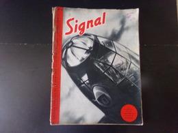 Signal, Revue De Propagande Allemande N° 10 Du 25 Août 1940 ( Couverture Abimée ) - Francés
