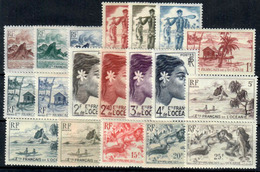 Oceanía Nº 182/200. Año 1948 - Neufs