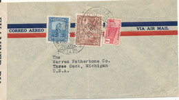 Colombia Censored (3845) Air Mail Cover Sent To USA 9-4-1942 - Colombia