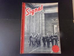 """Signal, Revue De Propagande Allemande N° 14, Octobre 1940 """" Le Pacte Tripartite Est Signé """" - Revues & Journaux"""
