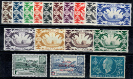 Oceanía Nº 155/70, 171. Año 1942/44 - Neufs