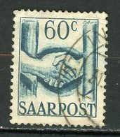 SARRE - DIVERS - N° Yvert 232 Obli. - 1947-56 Occupation Alliée