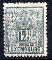 LUXEMBOURG - 1882-91 - N° 52 - 12 C. 1/2 Ardoise - (Allégorie) - 1882 Allegorie