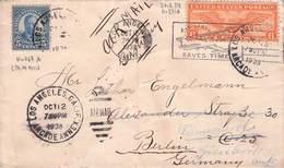 USA - AIRMAIL 1938 LOS ANGELES - BERLIN /ak755 - Poste Aérienne