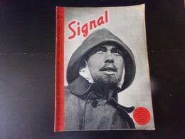 """Signal, Revue De Propagande Allemande N° 15 Novembre 1940 """" Vigie Sur Une Vedette Rapide """" - Revues & Journaux"""