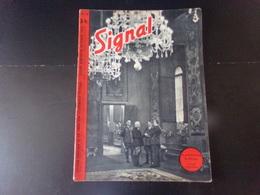 """Signal, Revue De Propagande Allemande N° 16 Novembre 1940 """" Le Grand Meeting De Florence """" - Revues & Journaux"""
