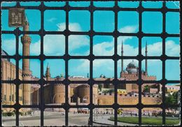 Ägypten - Kairo - Cairo - The Citadel Seen From Sultan Hassan Mosque - 2x Nice Stamps - Kairo