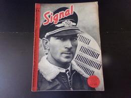 """Signal, Revue De Propagande Allemande N° 17 Décembre 1940 """" Le Lieutenant Colonel Mölders """" - Revues & Journaux"""