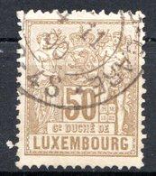 LUXEMBOURG - 1882-91 - N° 56 - 50 C. Bistre-olive - (Allégorie) - 1882 Allegorie