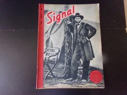 """Signal, Revue De Propagande Allemande N° 1, 1944, """" Les Méthodes De Guerre Américaine """" - Revues & Journaux"""