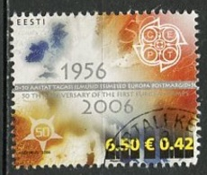 Estonie - Estonia - Estland Bloc Feuillet 2006 Y&T N°BF23 - Michel N°538 (o) - 6,50k 50ans EUROPA - Extrait Du Bloc - Estonie