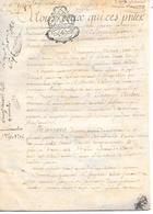 Cachet Généralité De Paris Sur Parchemin ( 1783 ) - Seals Of Generality