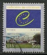 Estonie - Estonia - Estland 1999 Y&T N°332 - Michel N°341 (o) - 5,50 Conseil De L'Europe - Estonie